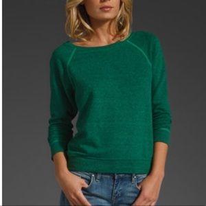 Current Elliott letterman Sweatshirt Green S